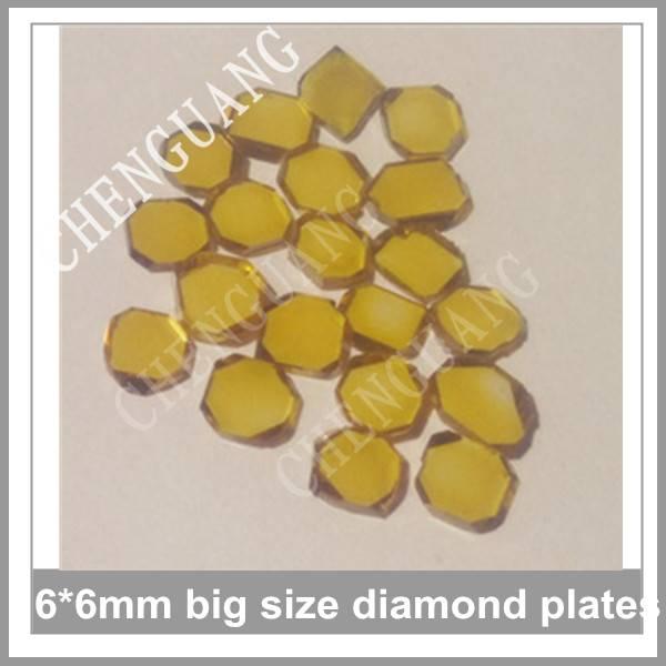 Round diamond plate,  Square shape diamond plates, Hexagon shape diamond plates