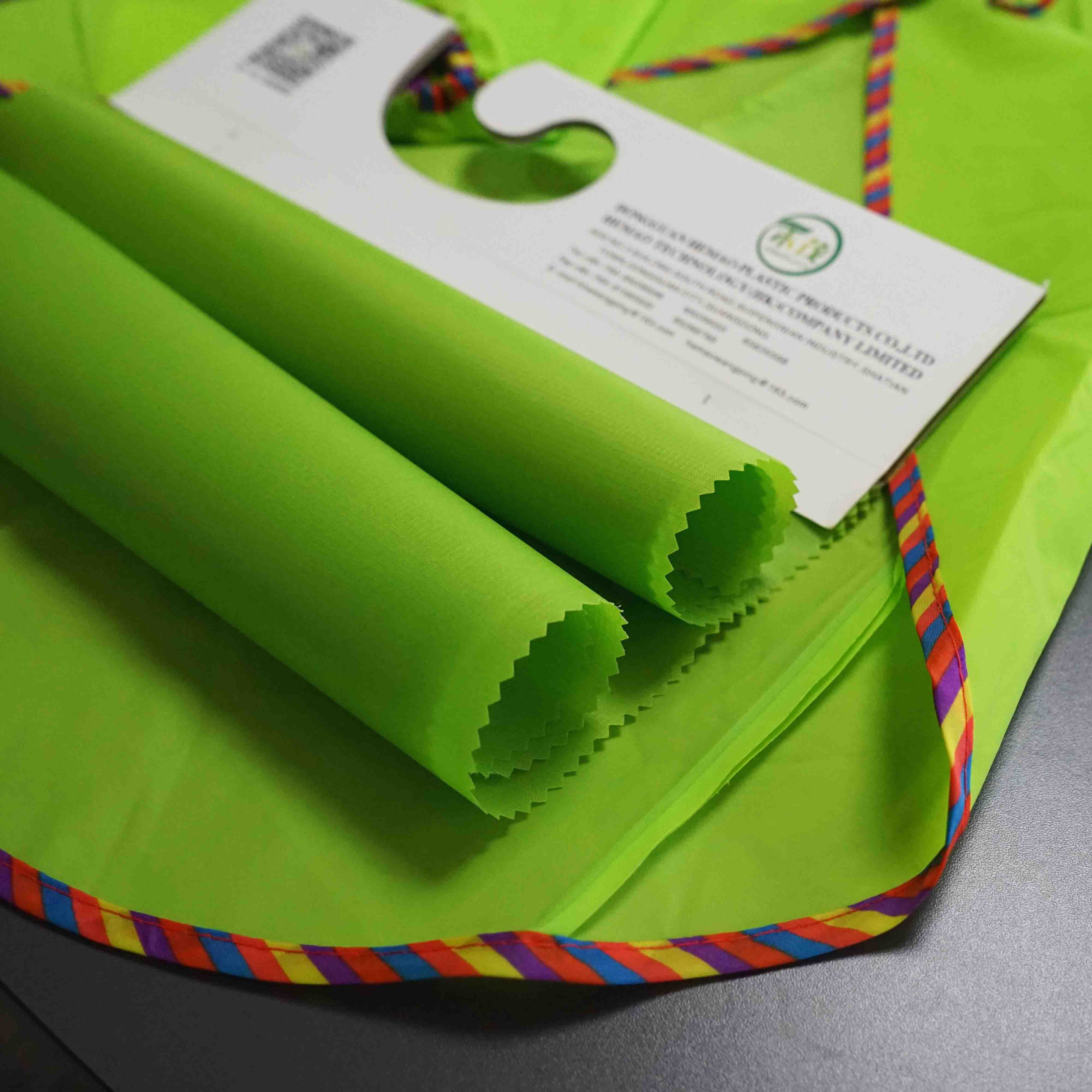 Eco Friendly Material Breathable Waterproof TPU Fabric for Garments
