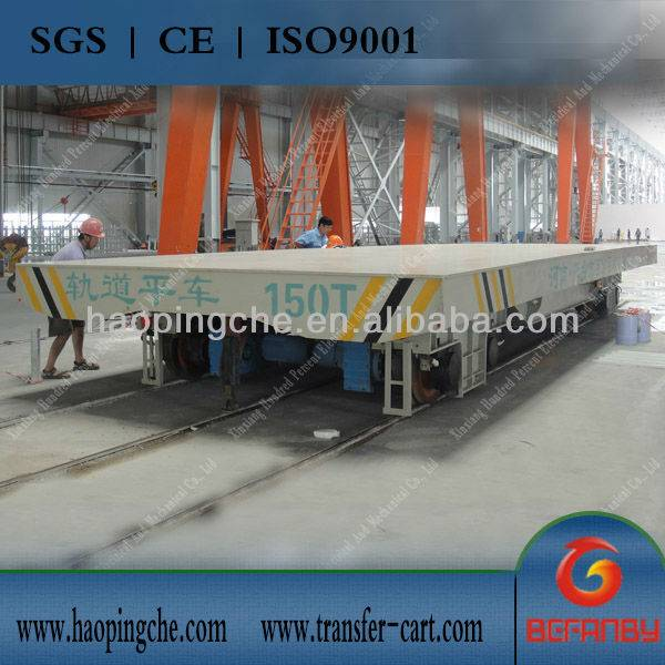 150T Material transfer trolley on-rail