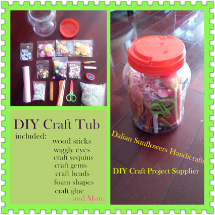 DIY Kids Crafts In Jar