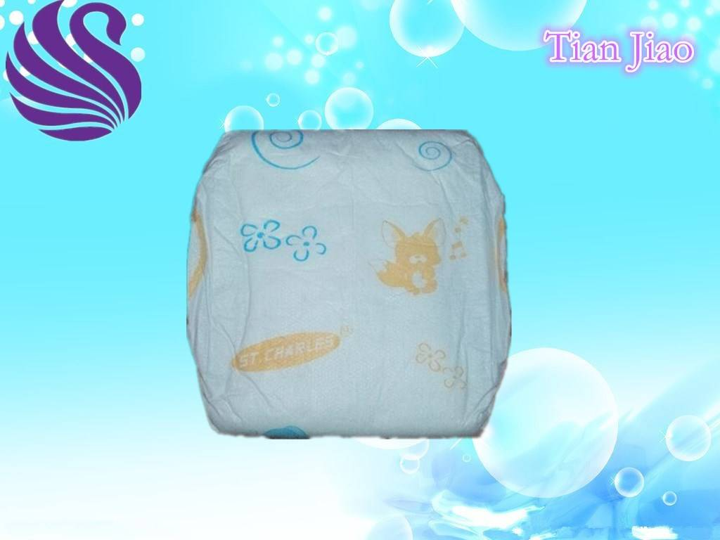 High Absorption Disposable Baby Diapers with Good Quality
