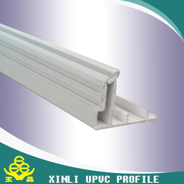 Custom shape and color upvc profile for window and door