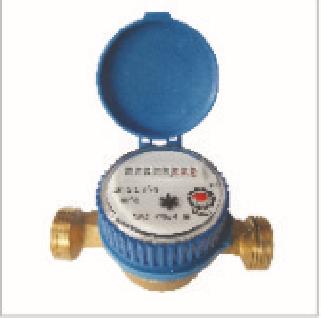 Single-jet water meter