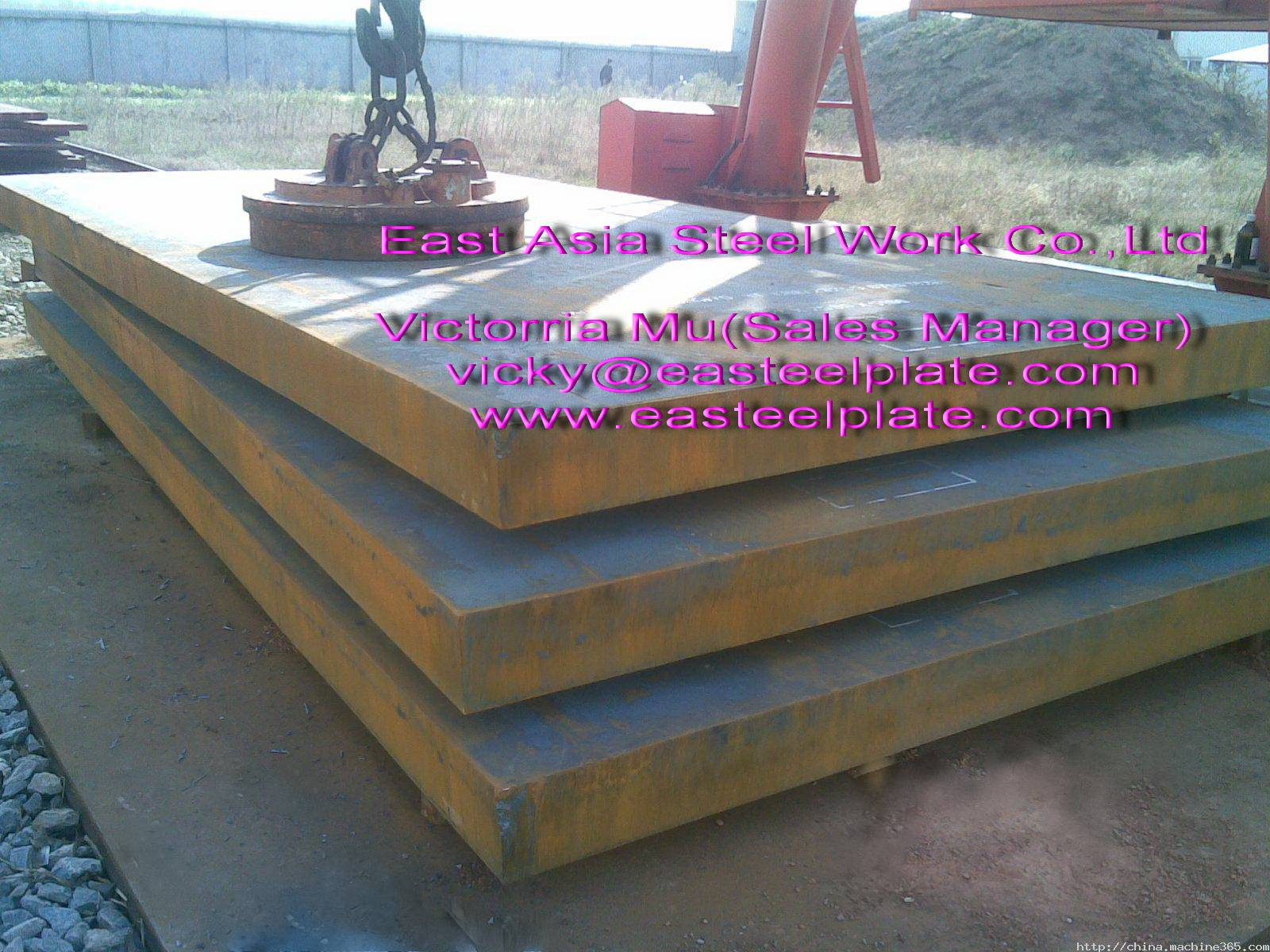 Sell: ABS/ GL/ LR/ BV/ DNV Grade A/ B/ D/ E steel plates for shipbuilding