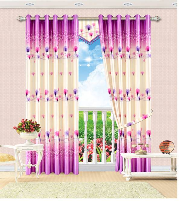 colorful curtain design