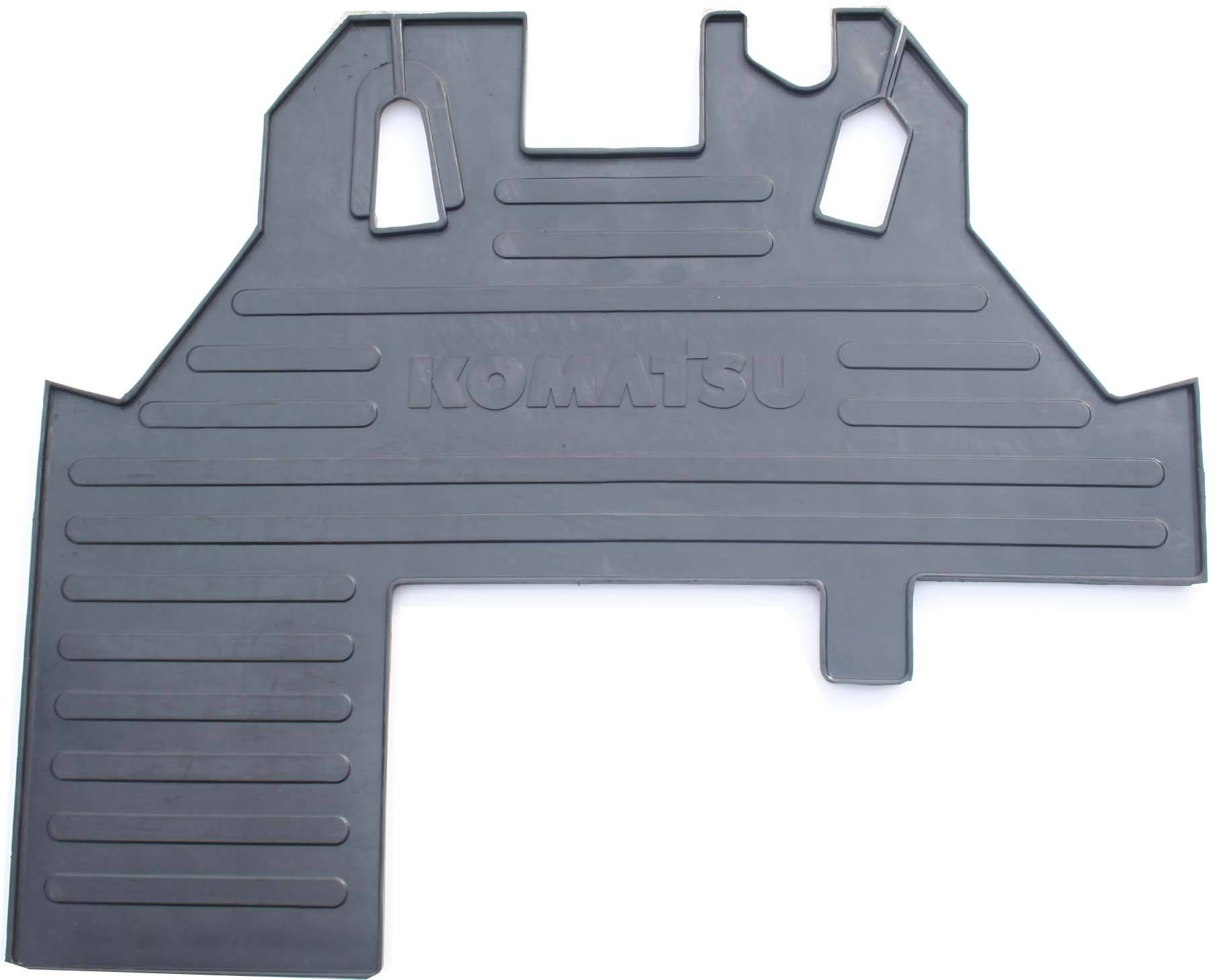Rubber cab floor mat