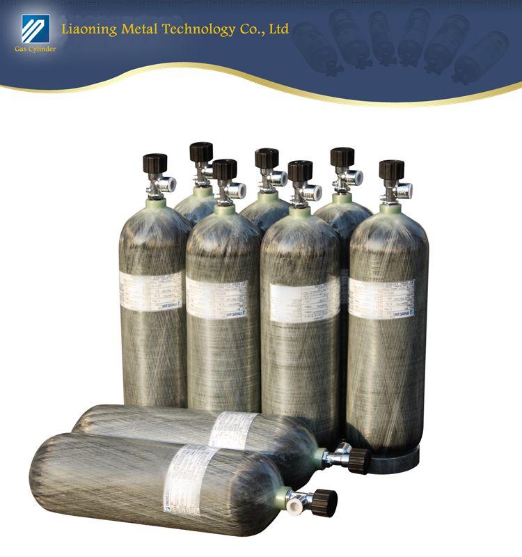 CRPIII-162-9.0-30-T Composite cylinder