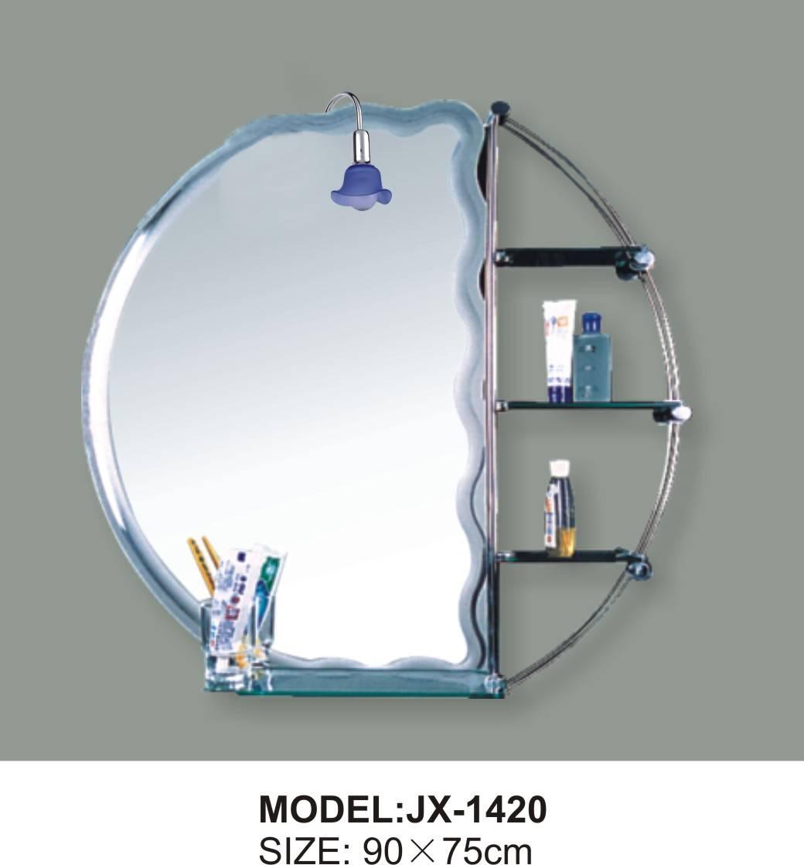 glass beveled bathroom mirror and bath mirror