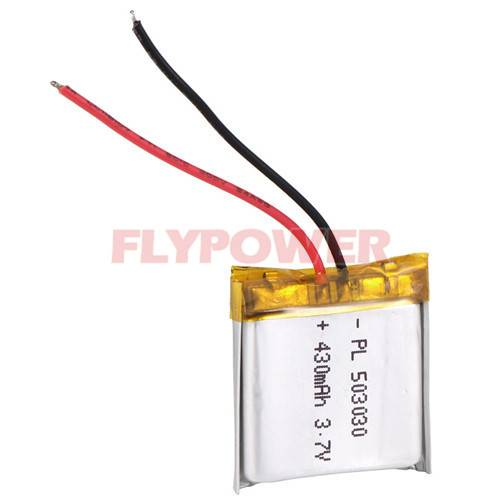Lithium Battery 3.7V 430mAh Rechageable Battery Pack