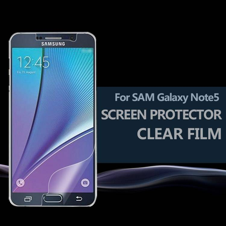 Smooth Self-Healing Ultra Invisible Screen Protective Film Samsung GALAXY Note5 SM-N920T (T-Mobile)
