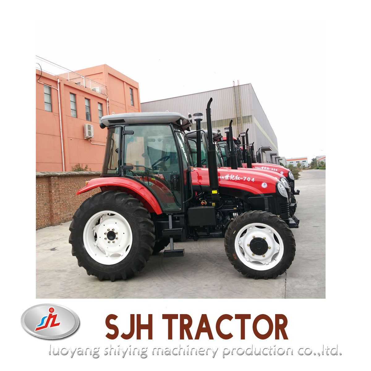 High Quality 70hp 4wd Farm Tractor Made in China