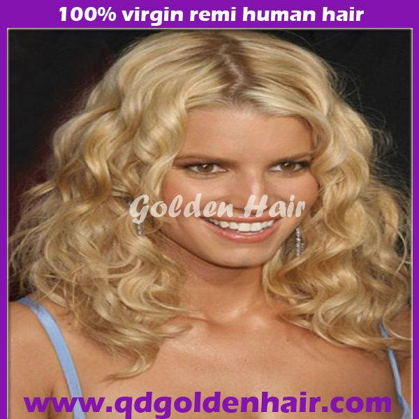 High Quality Human Hair Virgin Remy Beyonce Lace Wig From China