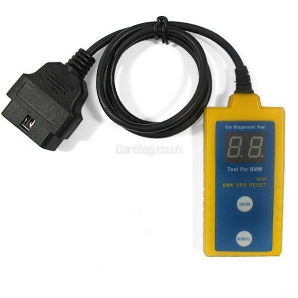 BMW Airbag Scan/Reset Tool cardiag.co.uk