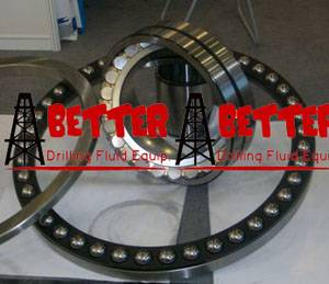 Bearings for triplex mud pump