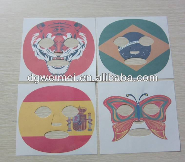 Hot-sales Temporary Face Tattoo Sticker