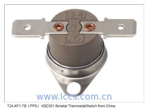 T24-XF1-TB(PPS) KSD301 Bimetal Thermostat/Switch