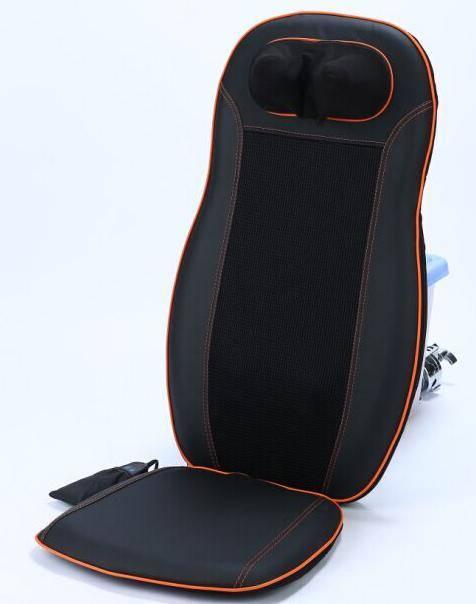 Luxury Neck & Back Car Massage Cushion with Rolling Massage & Spot Massage