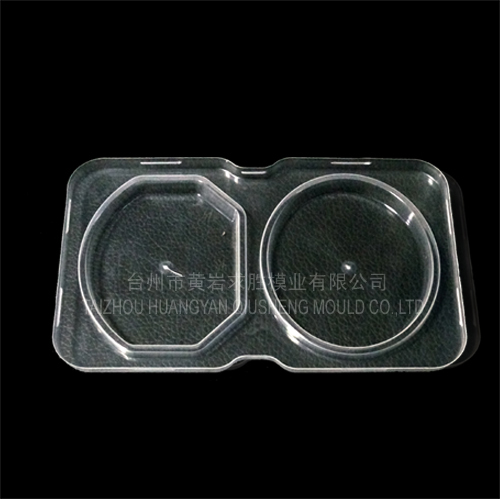 PS small transparent dessert cover plastic mould