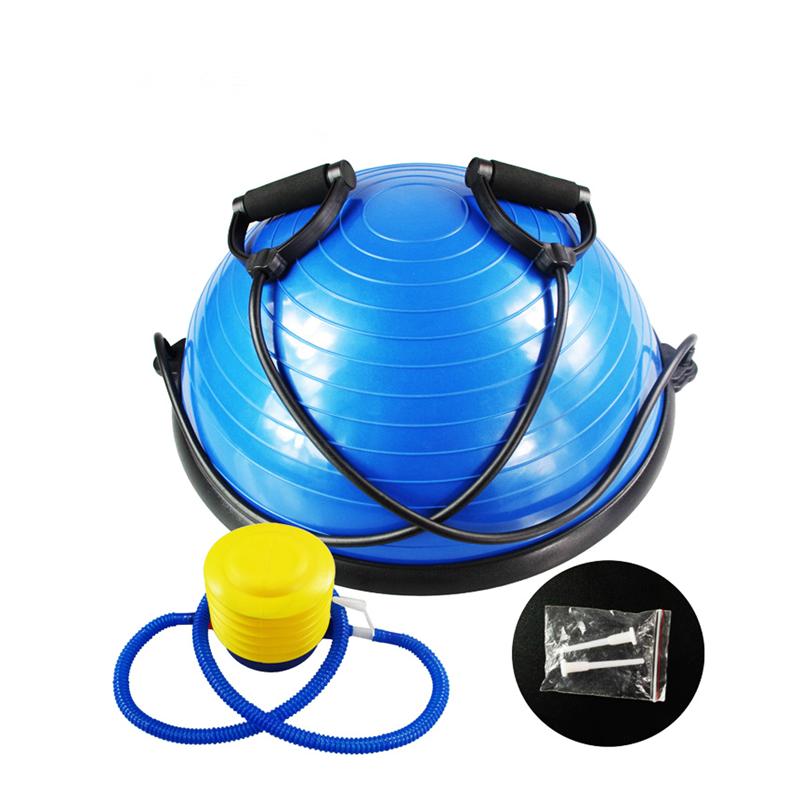 58CM Gym Pilates Bosu Ball With Pump