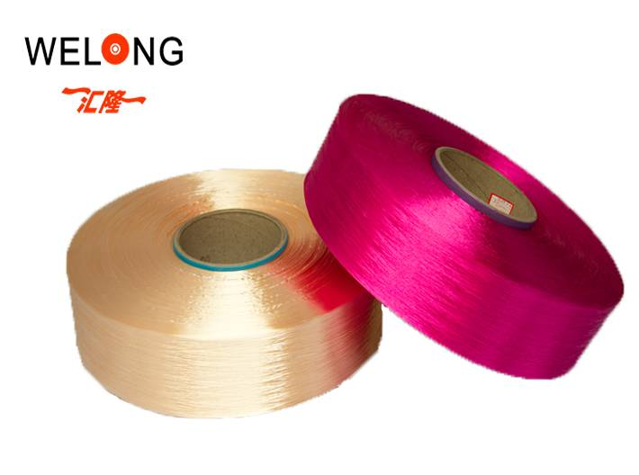 polyester filament yarn for knitting