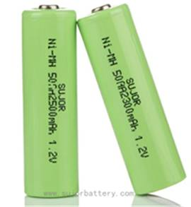 NiMH rechargeable battery with good cost performance AA 1.2V CE/SGS approved