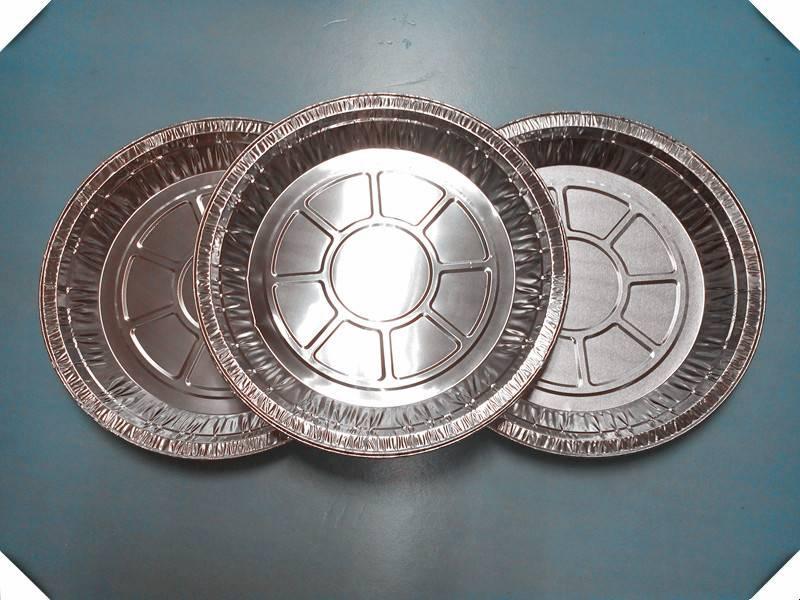 "9""aluminum foil round pizza tray"