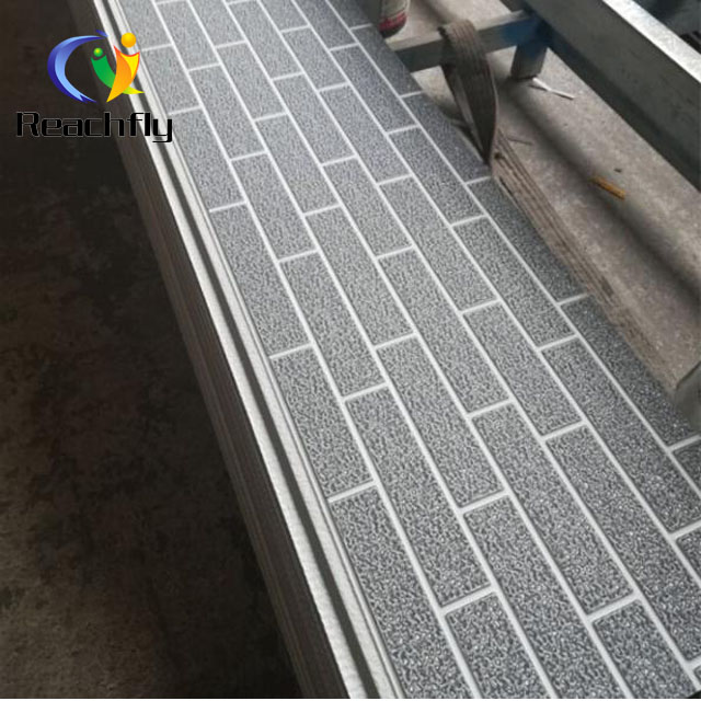 polyurethane sandwich panel with one side metal