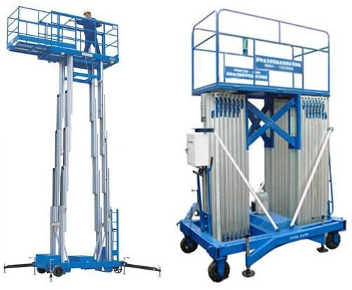 hydraulic aerial work lift