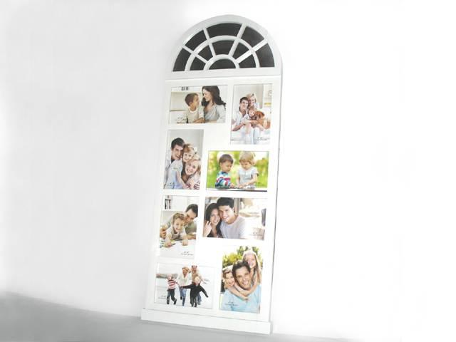 plastic photo frame/picture frame 8pcs