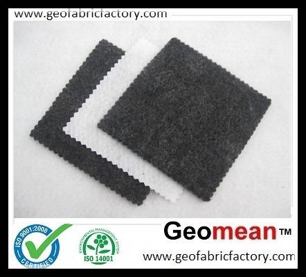 150gsm Filament PET/PP spunbonded needled punched non woven geotextile fabric