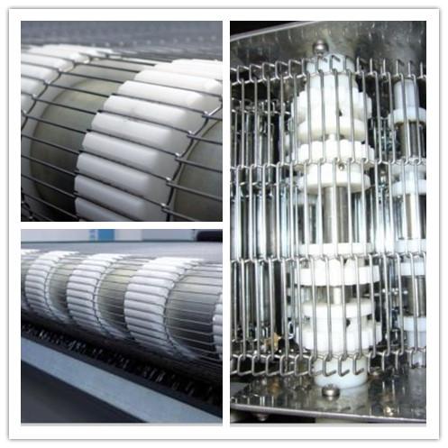 Stainless steel wire mesh belt flat flex belt