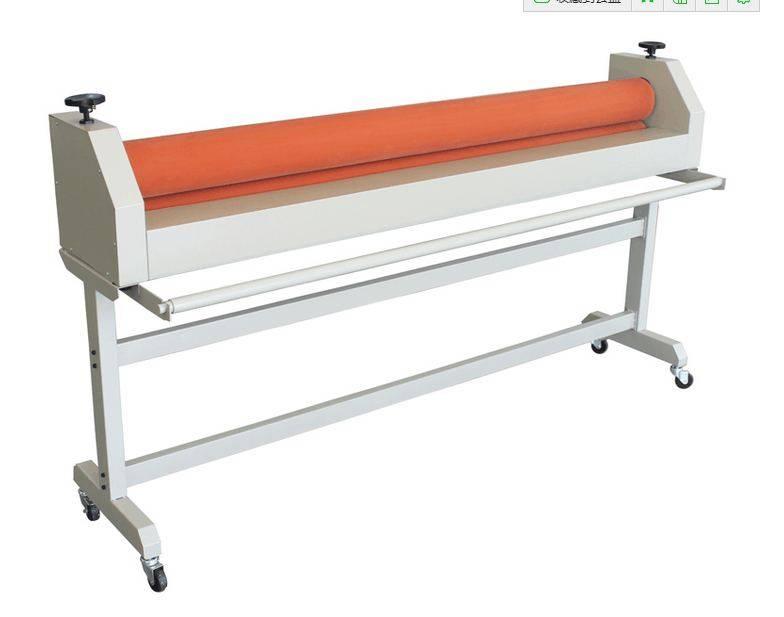 1.6/1.3m manual cold paper laminating machine