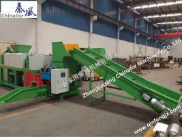 EPS screw compactor CF-CP250 from Chinafor machinery