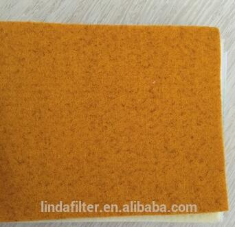 P84 Needle Punched Felt / Air Filter Media .cloth .fabric For Power industry