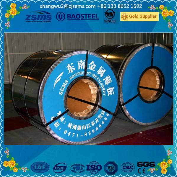 zinc coated steel coils