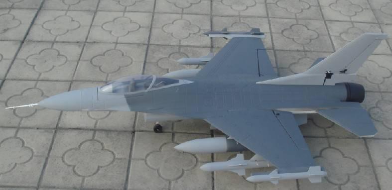 rc plane model F16