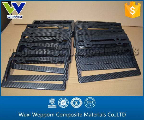 Export To America,Carbon Fiber Car License Frame