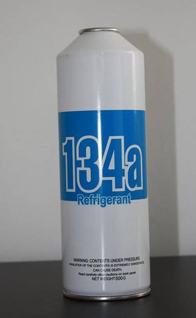 Small can Refrigerant gas r134a 500g