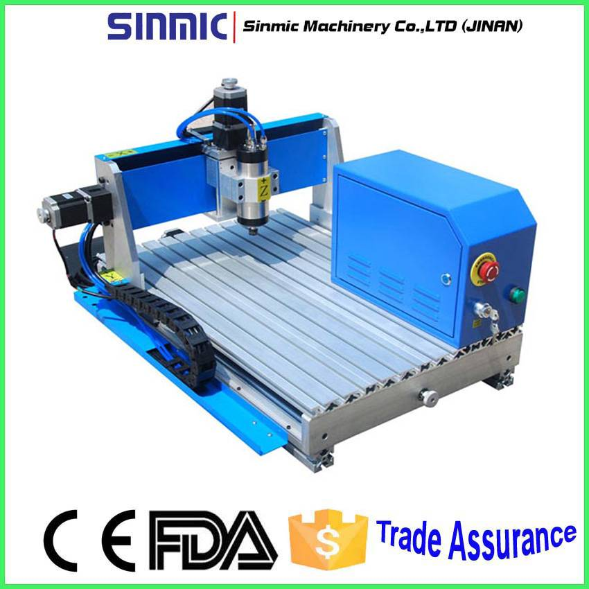 China AD SHOP mold manufacturing desktop wood cnc router 6040/Engraving machine