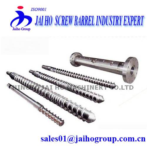 38CrMoAlA Nitrided Screw Barrel for Plastic Extruder Machine