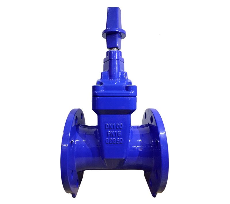 Non-Rising Stem Resilient Seated Gate Valve Gland Type