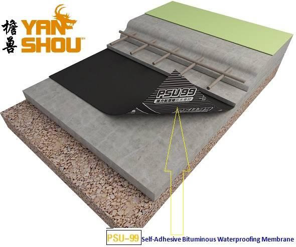 Cold Applied Waterproof Sheet Membrane