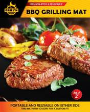 Non-sticky ,eco-friendly PTFE BBQ grill mat