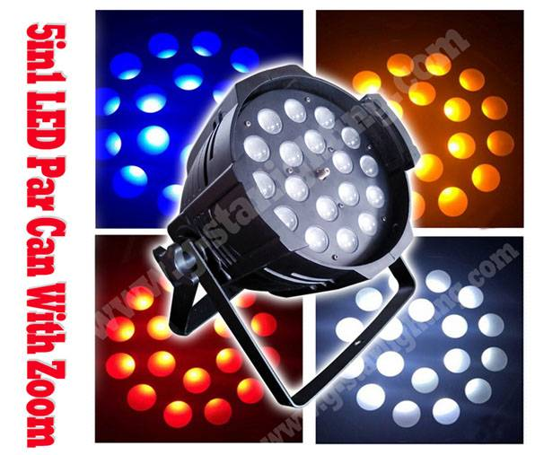 1810W(5in1) LED PAR WITH ZOOM