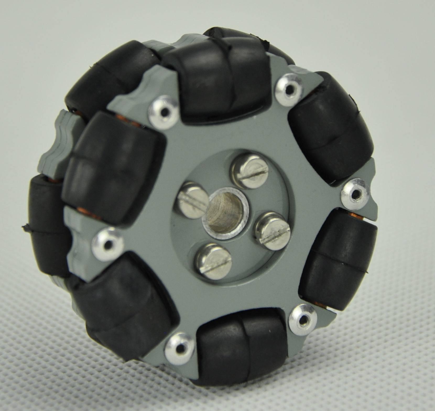50.8mm double aluminum hub omni directional wheels for ROBOCON, FTC