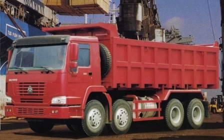 HOWO 8*4 CARGO TRUCK ZZ3317M3267W