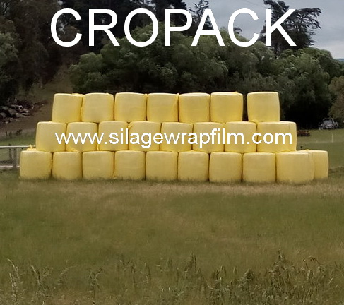 Bale wrap - CROPACK 750 -yellow color