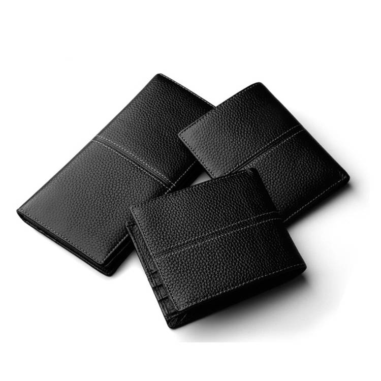Exquisite High Quality Factory Supply Wholesale Genuine Leather Men'S Wallet