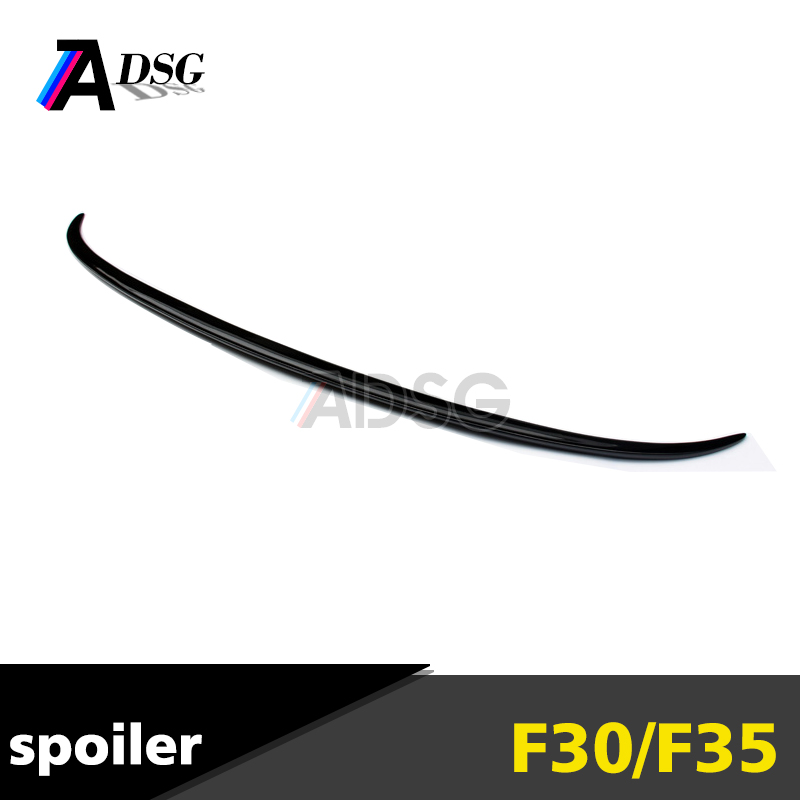 For BMW F30 M3 style carbon spoiler trunk spoiler rear spoiler