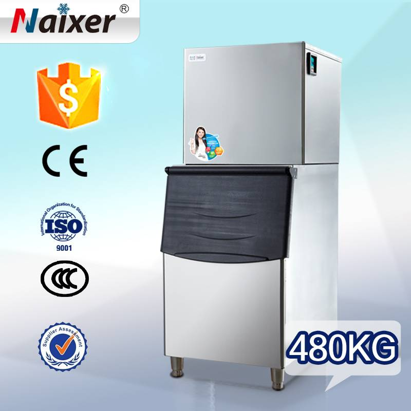 Naixer automatic commercial silicone ice maker